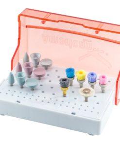 Kit Acabamento e Polimento de Resina Completo Ultra-Gloss - American Burrs