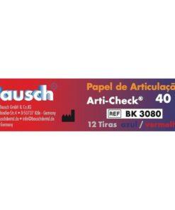 Papel Carbono Arti-Check 40 Micras - Bausch Dental LFWeber Campo Grande MS