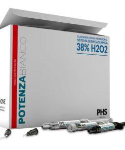 Clareador Potenza Bianco PRO SS 38% H2O2 PHS Dental LF Weber Campo Grande MS